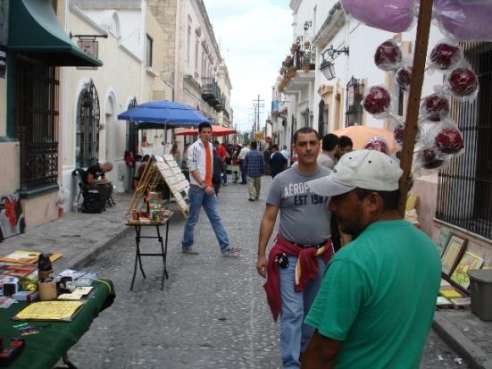 Mercado del Arte Barrio Antiguo Monterrey