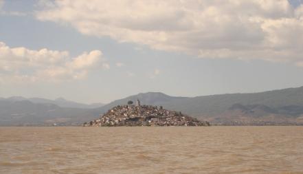 Isla de Janitzio, lago de Pátzcuaro