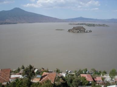 Lago de Pátzcuaro, vista desde Janitzio