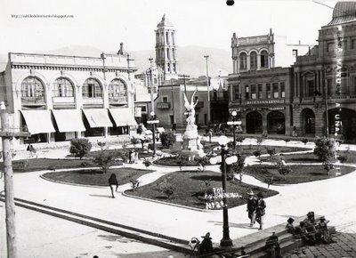 Plaza Manuel Acuña, Saltillo, Coahuila.
