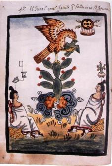 El Nopal. Manuscrito Tovar