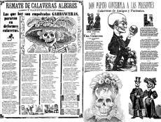 Calaveras del montón, calavera de Madero. José Guadalupe Posada