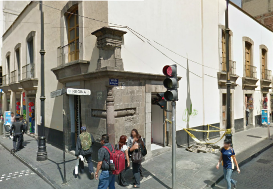 Vista actual. Fuente: Google maps