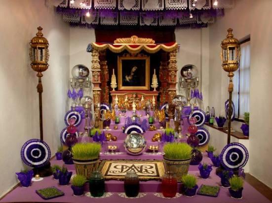 Altar de Dolores. Museo Casa del Risco