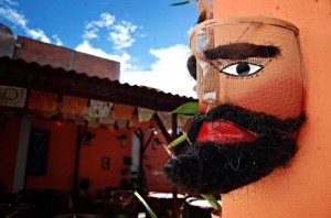 Máscara de chinelo. Fuente: Durangomas